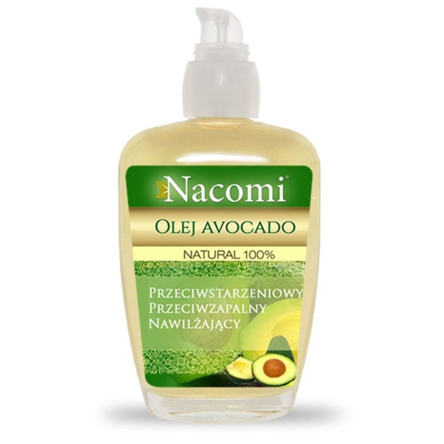 Nacomi Olej avocado z pompką 100 ml
