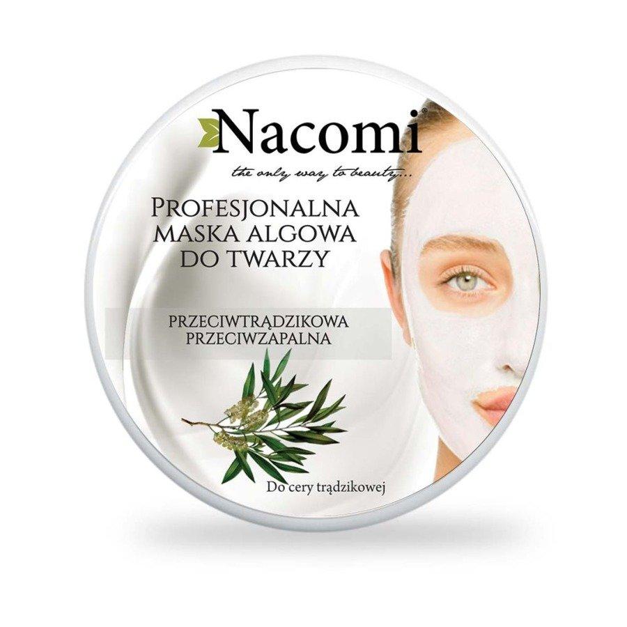 Nacomi Przeciwtrądzikowa maska algowa z olejkiem herbacianym