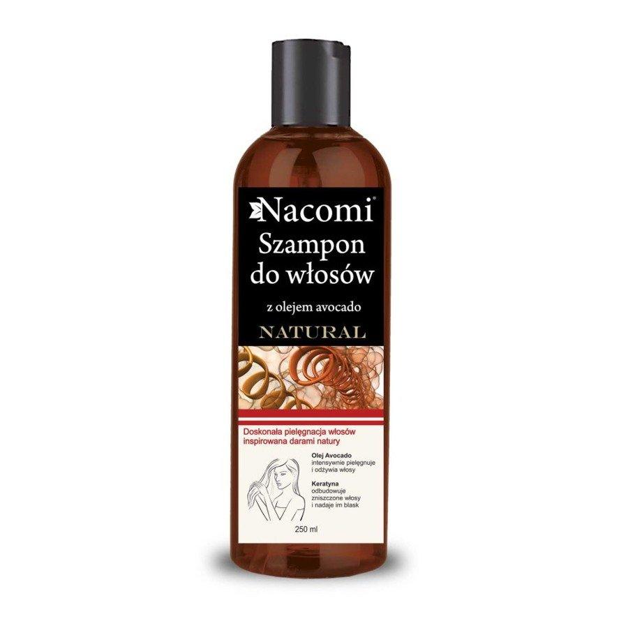 Nacomi Szampon do włosów z keratyną i olejem avocado 250 ml