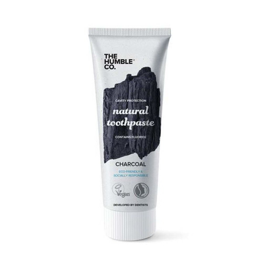 Naturalna pasta do zębów z węglem aktywnym The Humble Co. 75 ml