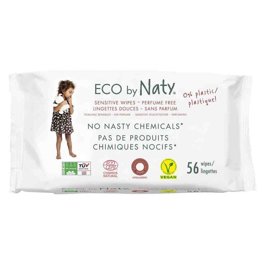 Naturalne chusteczki nawilżane bezzapachowe Eco by Naty 56 szt.
