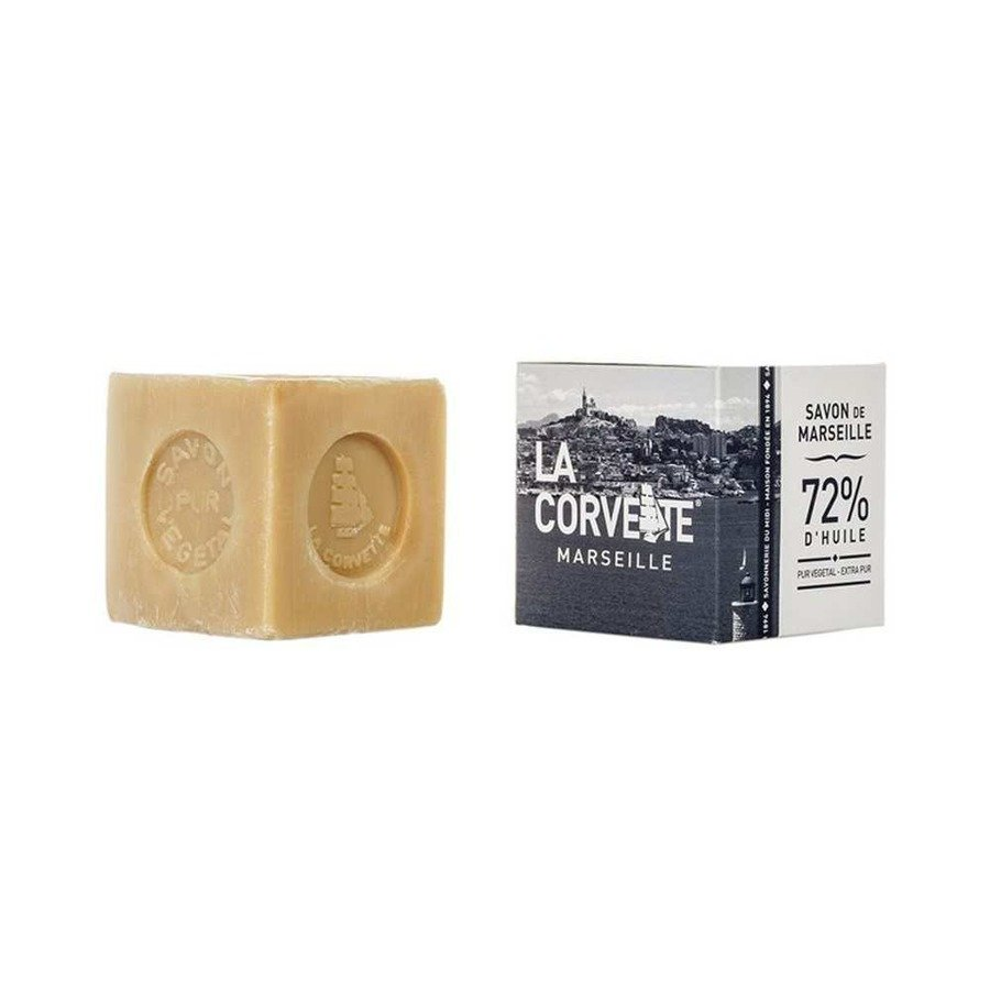 Naturalne mydło marsylskie w kostce (kartonik) La Corvette 500 g