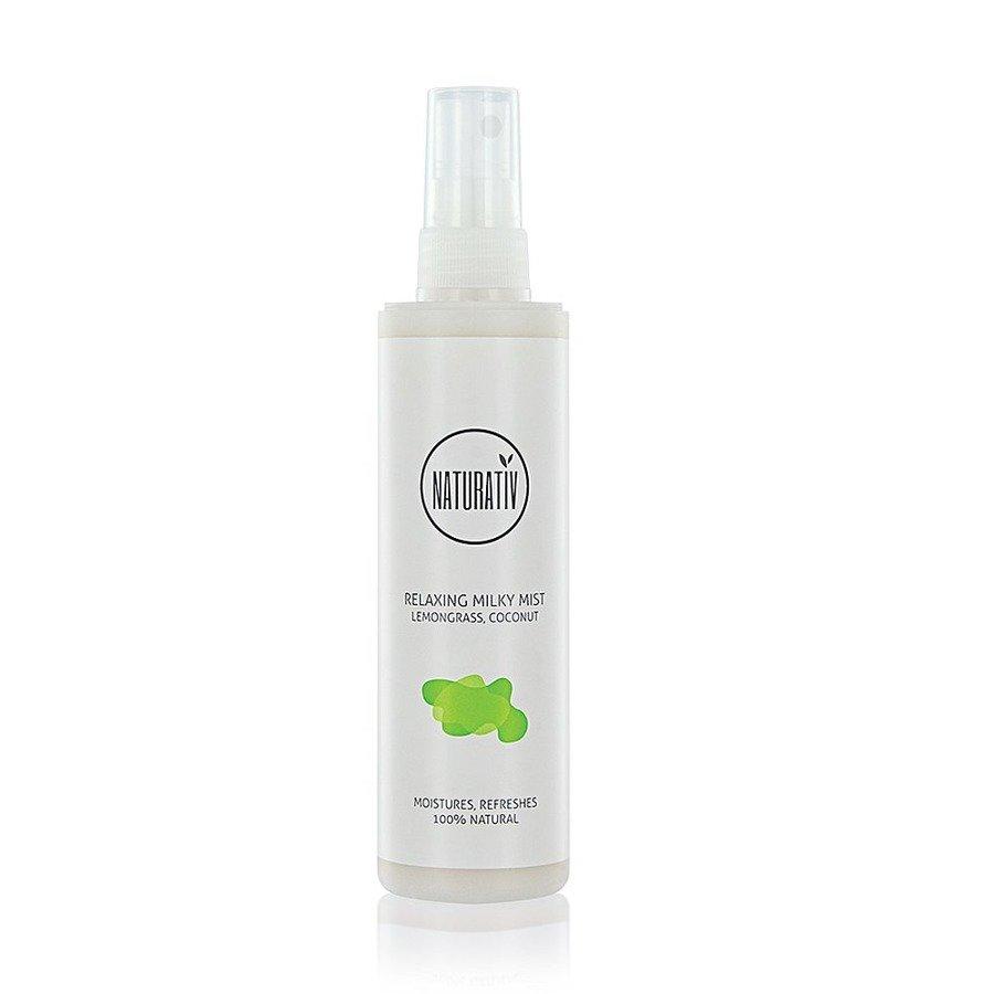 Naturativ Relaksująca mleczna mgiełka do ciała
