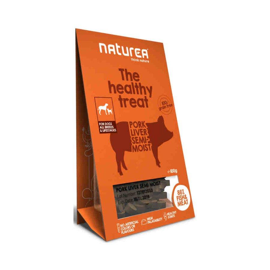 Naturea Bezzbożowe zdrowe przysmaki dla psów wątróbka 100 g