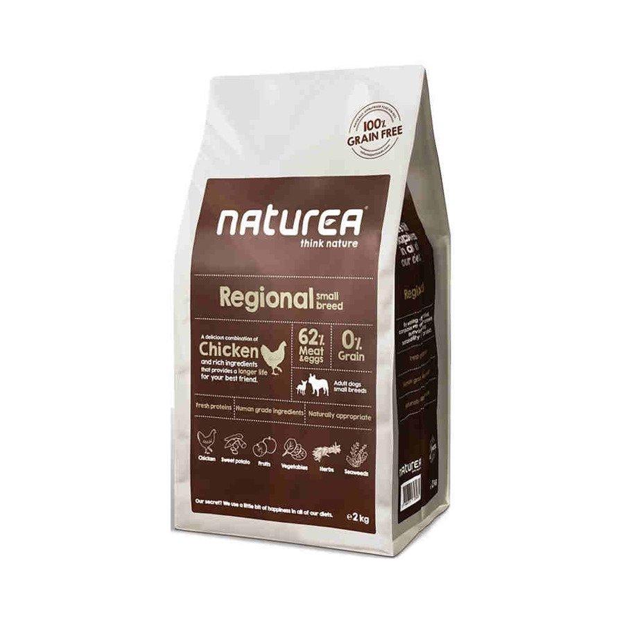 Naturea GF Regional Small Breed Bezzbożowa karma dla dorosłych psów małych ras kurczak 100 g