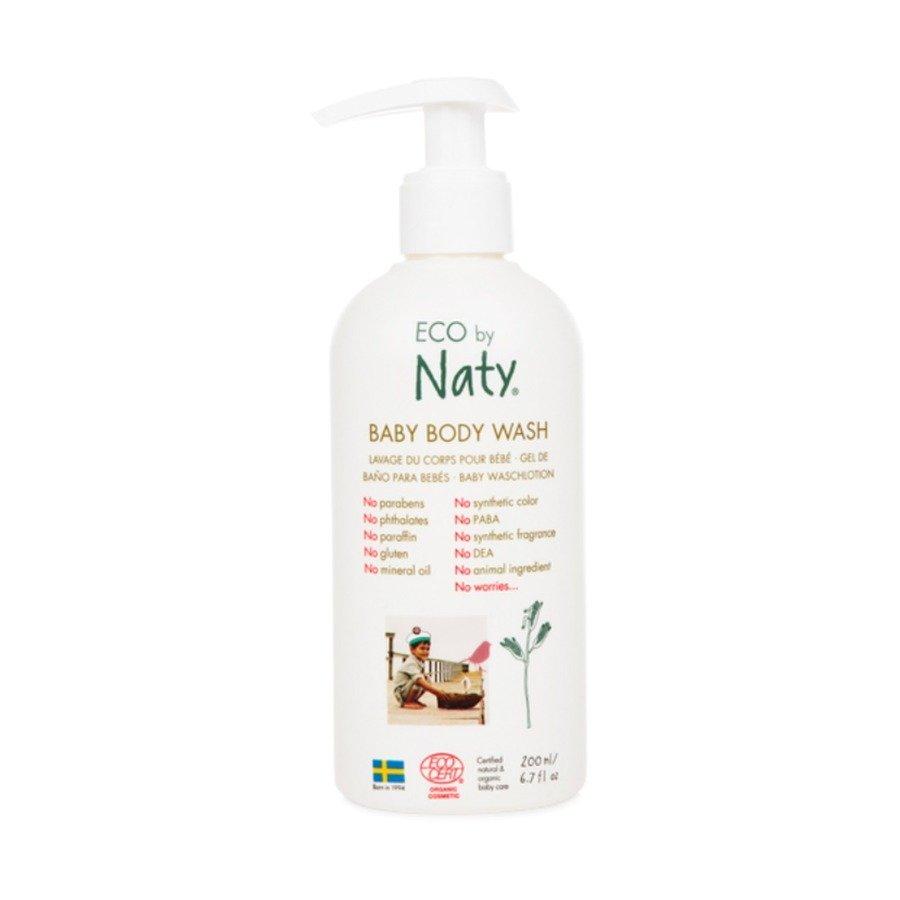 Naty Baby Hipoalergiczny żel do mycia dla dzieci i niemowląt 200 ml