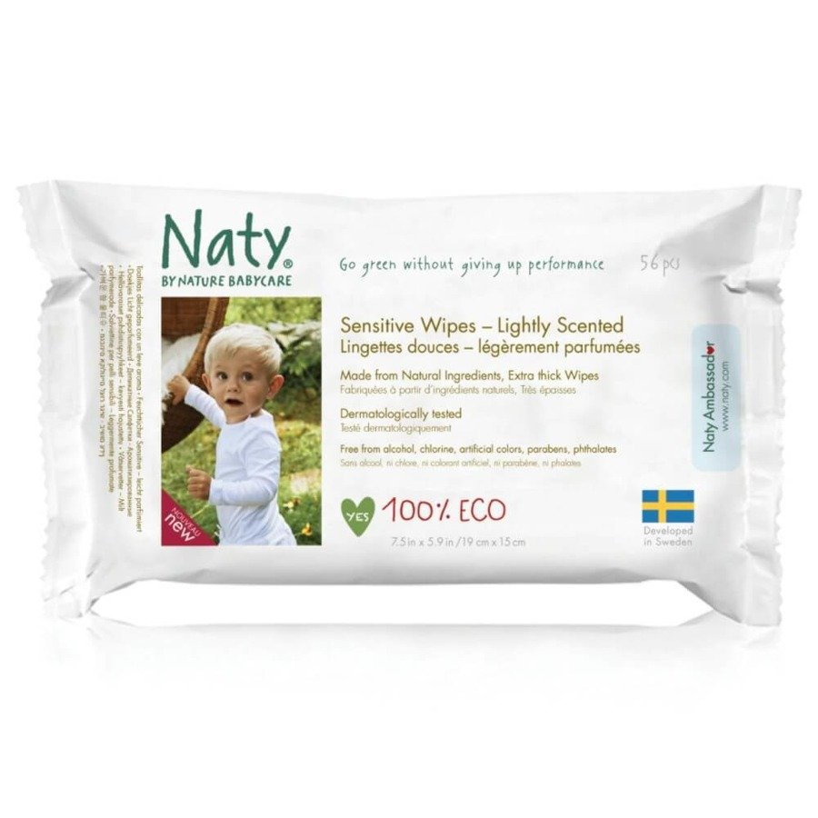 Naty Chusteczki nawilżane Nature Babycare 56 szt.