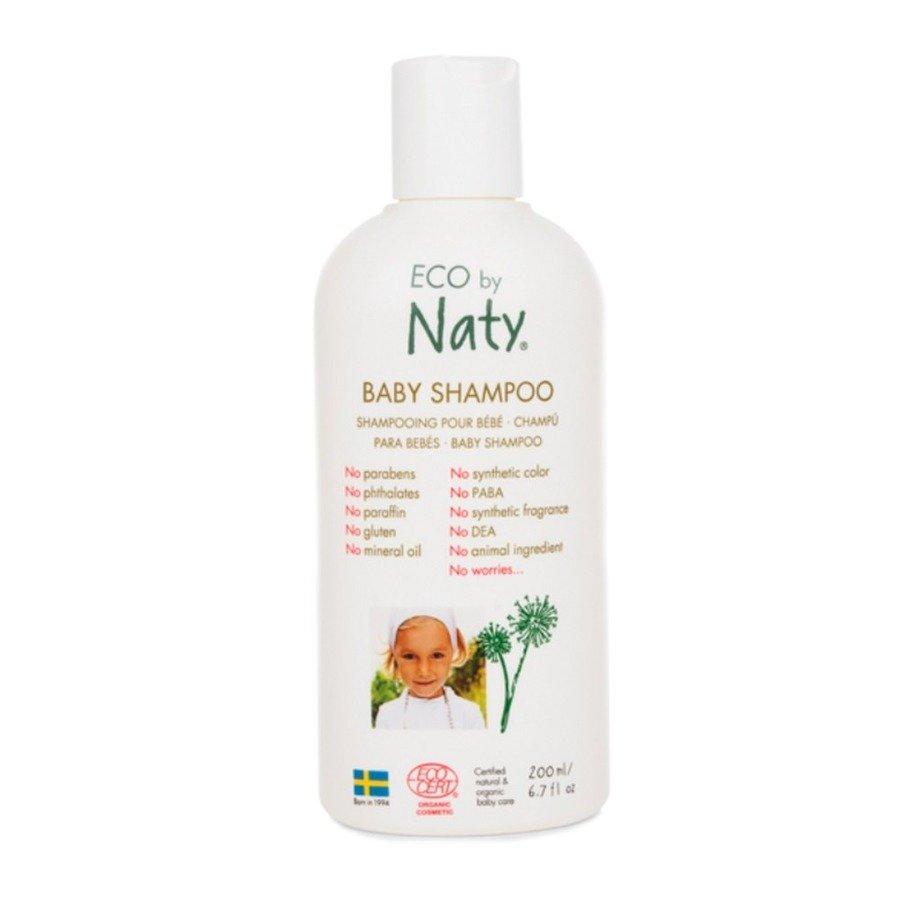 Naty Eco Baby Hipoalergiczny szampon dla dzieci i niemowląt 200 ml