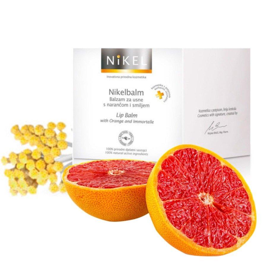 Nikel Balsam do ust z pomarańczą i kwiatem Immortelle