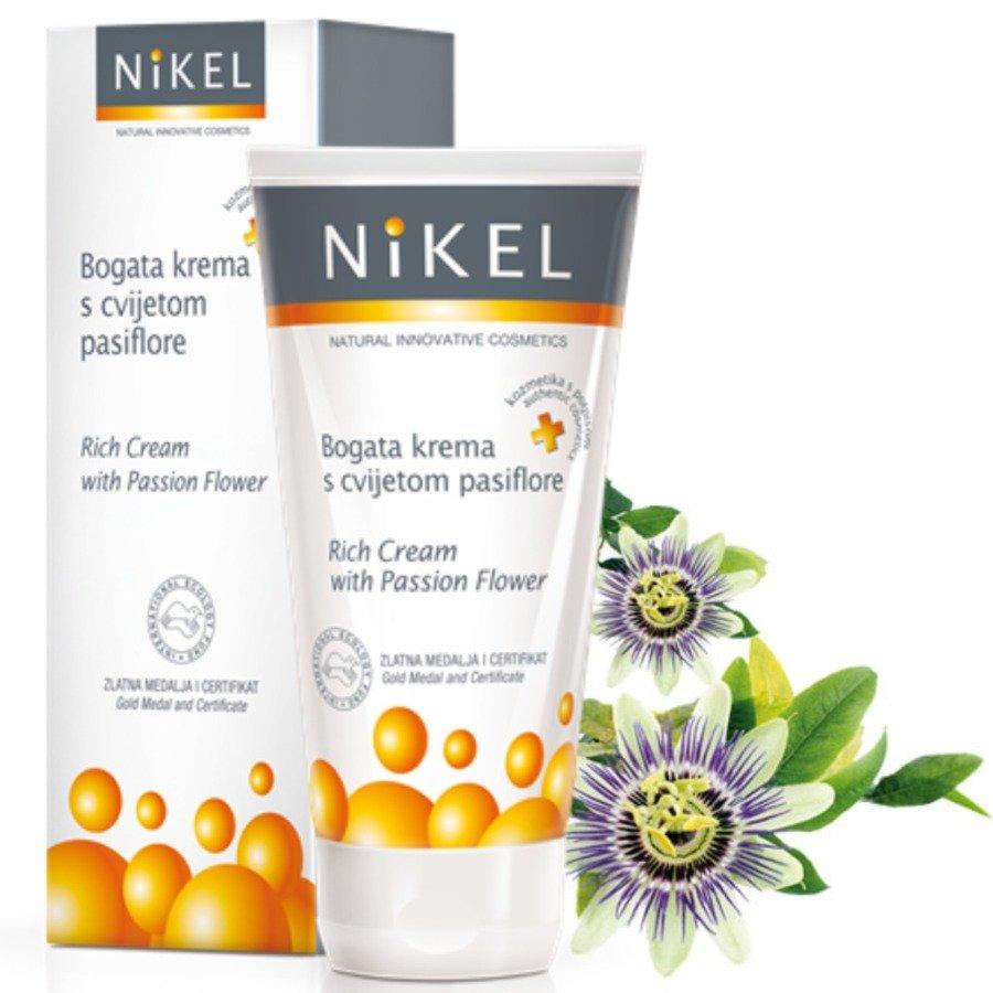 Nikel Bogaty krem z kwiatem passiflora do cery szczególnie wrażliwej
