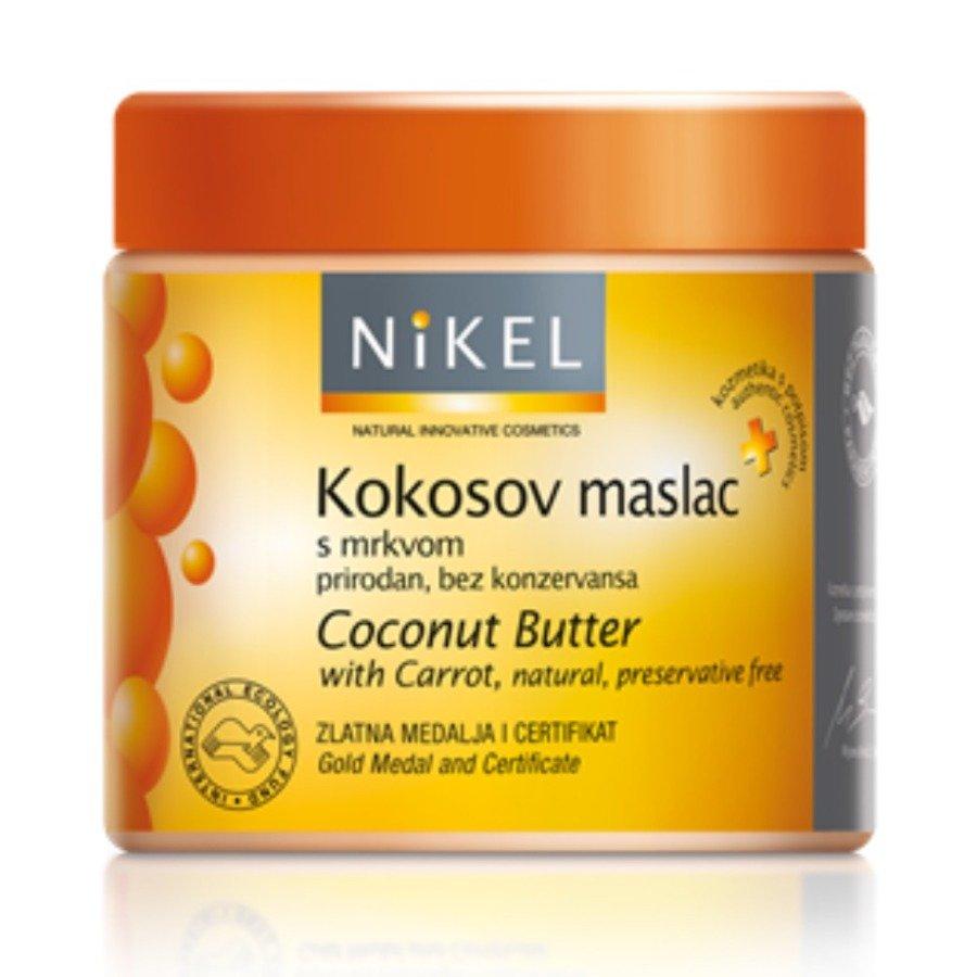 Nikel Coconut Butter Masło kokosowe z marchewką 250 ml