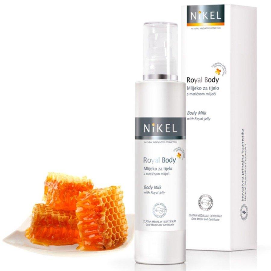 Nikel Mleczko do ciała wspomagające gojenie się podrażnień z mleczkiem pszczelim