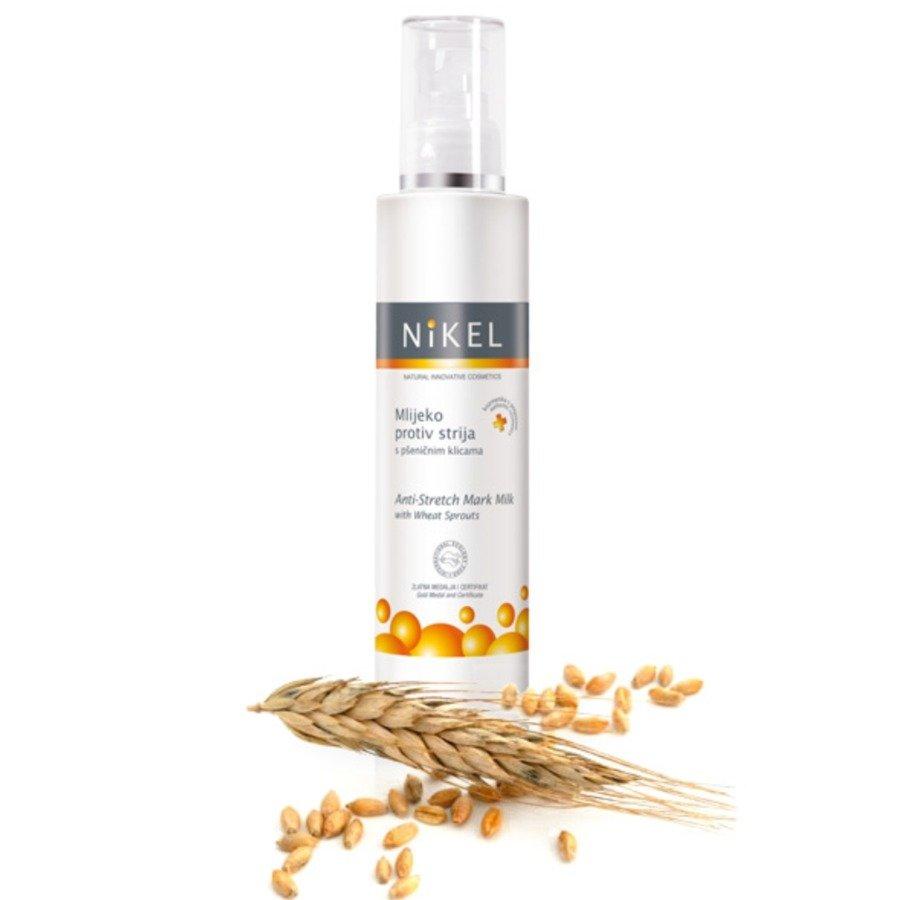 Nikel Mleczko do ciała z wyciągiem z kiełków pszenicy zapobiegające rozstępom