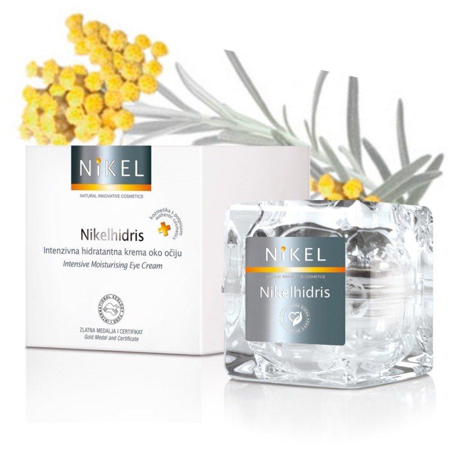 Nikel Nikelhidris Nawilżający krem pod oczy z kwasem hialuronowym i kwiatem Immortelle