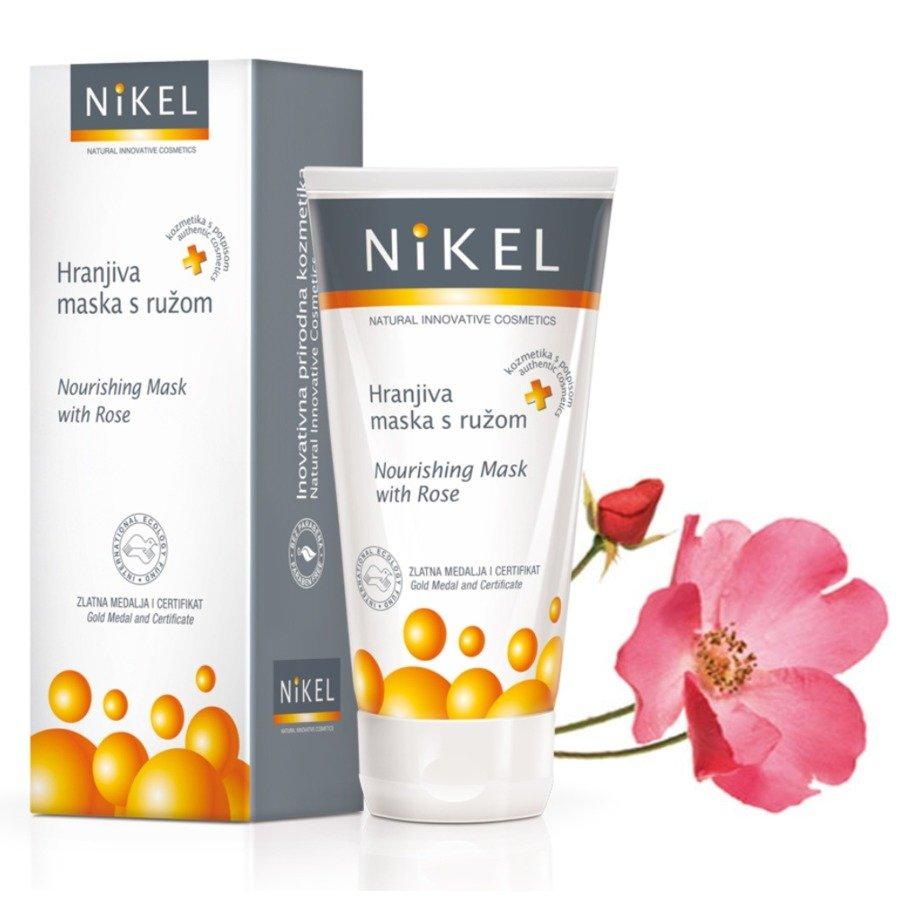 Nikel Odżywcza maska do twarzy z różą