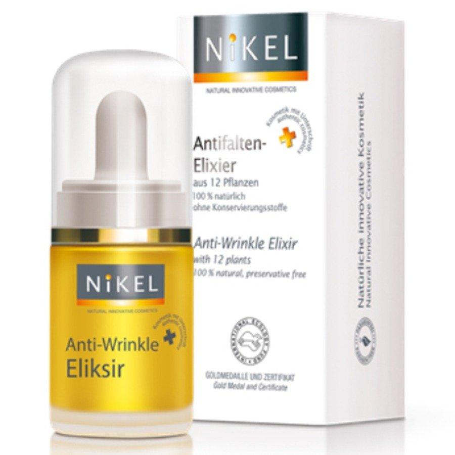 Nikel Przeciwzmarszczkowy eliksir z 12 roślin
