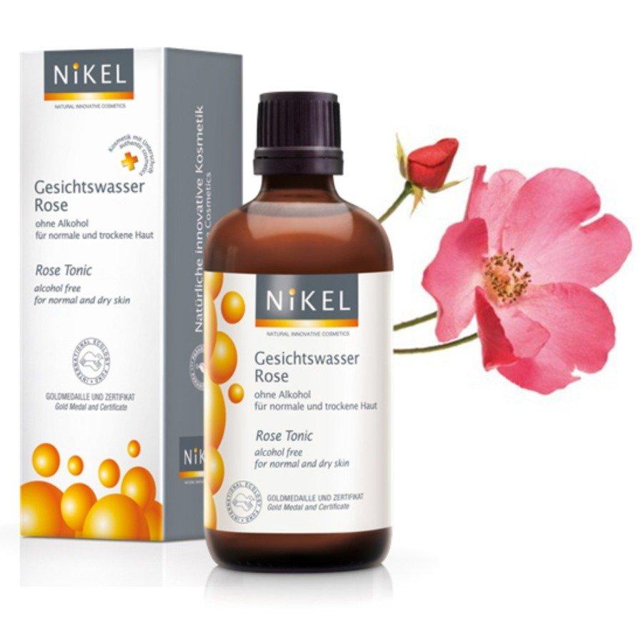 Nikel Tonik różany do skóry normalnej i suchej