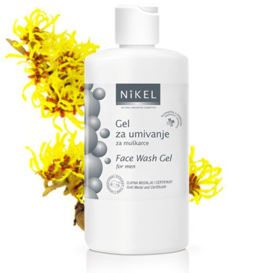Nikel Żel do mycia twarzy dla mężczyzn 200 ml