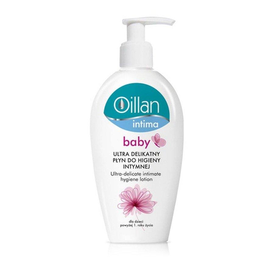Oillan Intima Baby Ultradelikatny płyn do higieny intymnej dla dzieci 200 ml