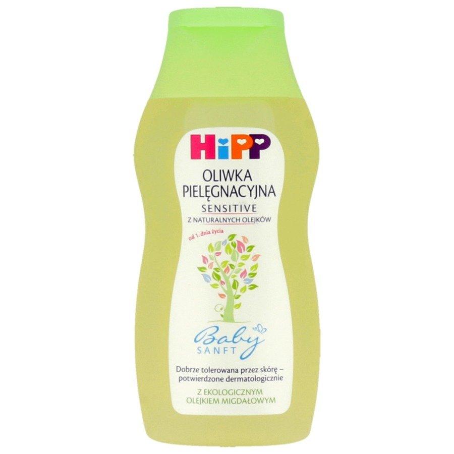 Oliwka pielęgnacyjna dla niemowląt Hipp Babysanft 200 ml