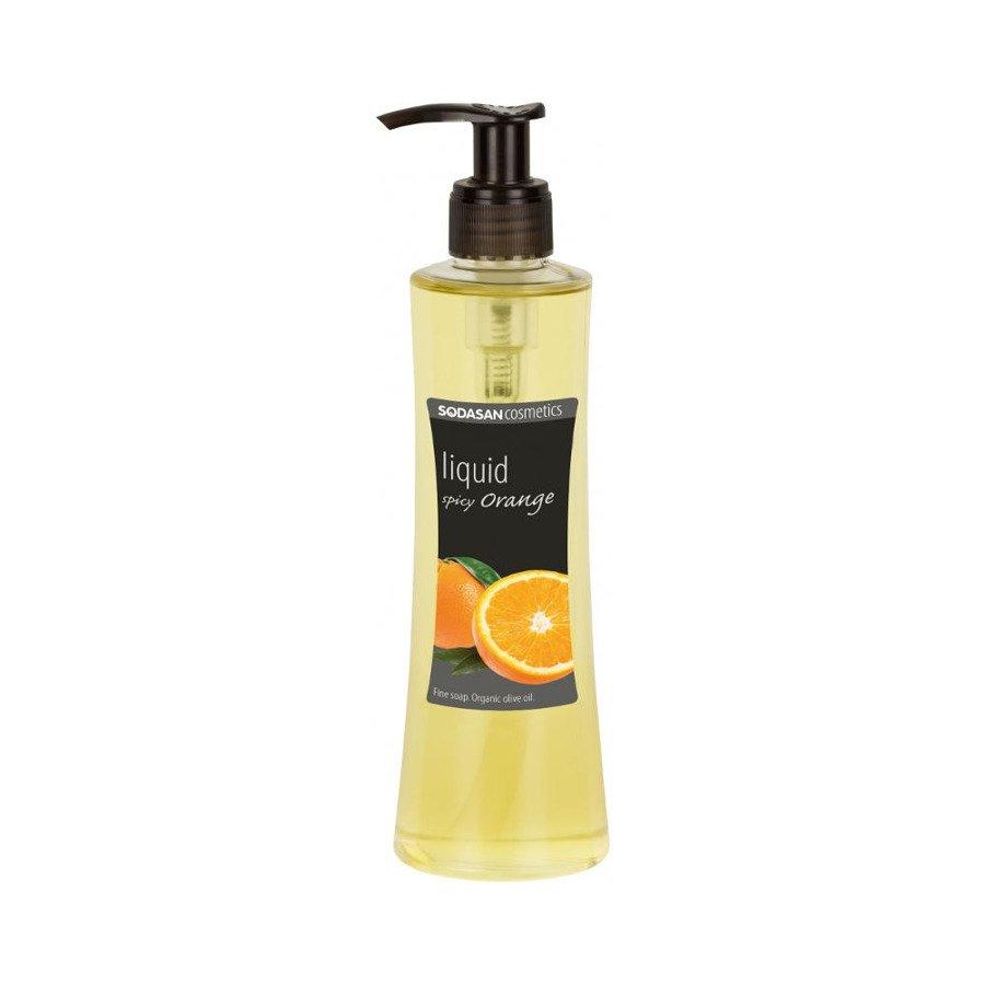 Sodasan Mydło w płynie pikantny pomarańcz 250 ml