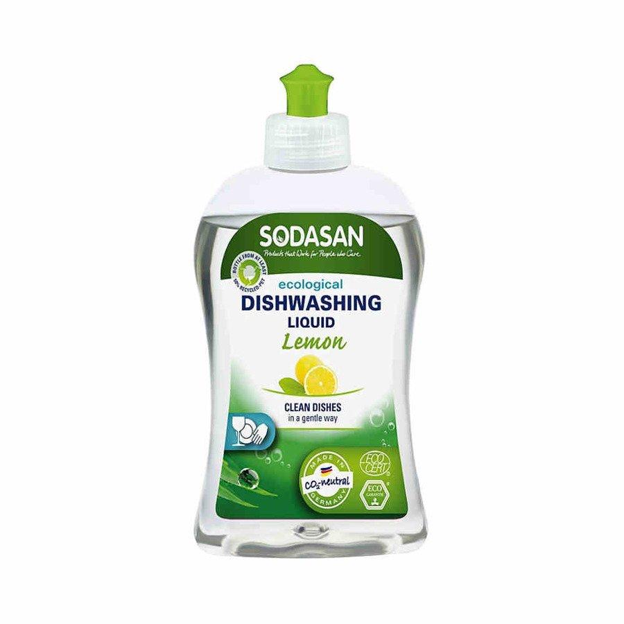 Sodasan Płyn do zmywania naczyń o zapachu cytrynowym 500 ml