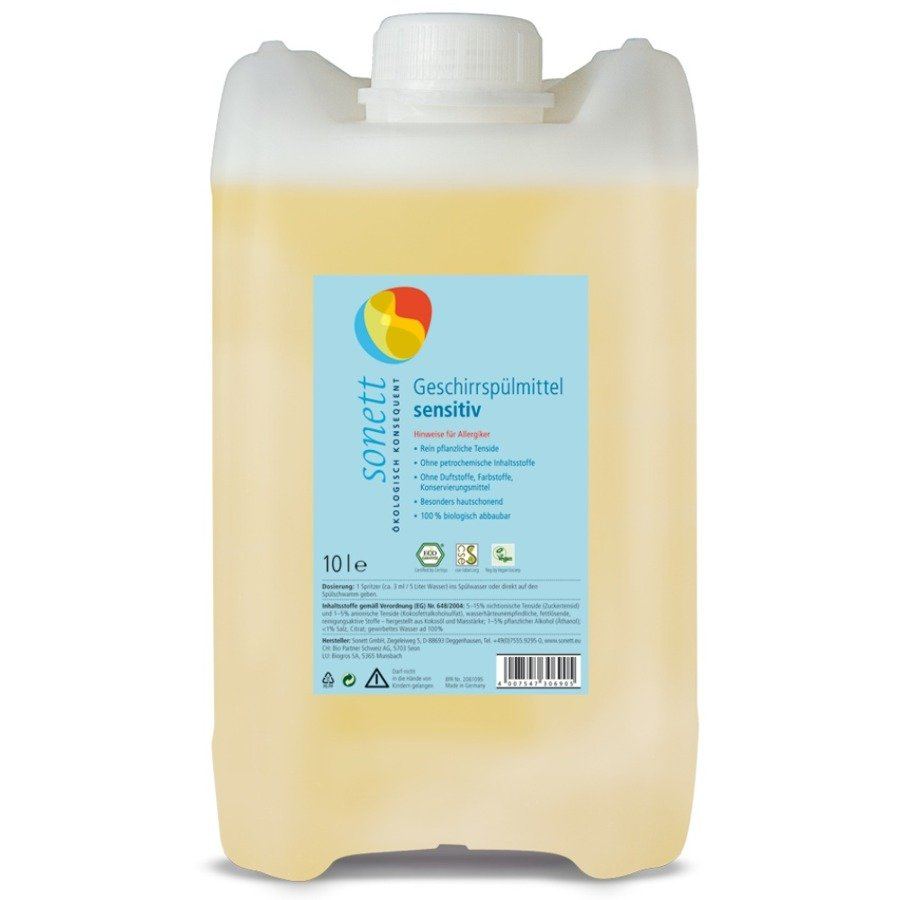 Sonett Neutral Płyn do mycia naczyń 10 l