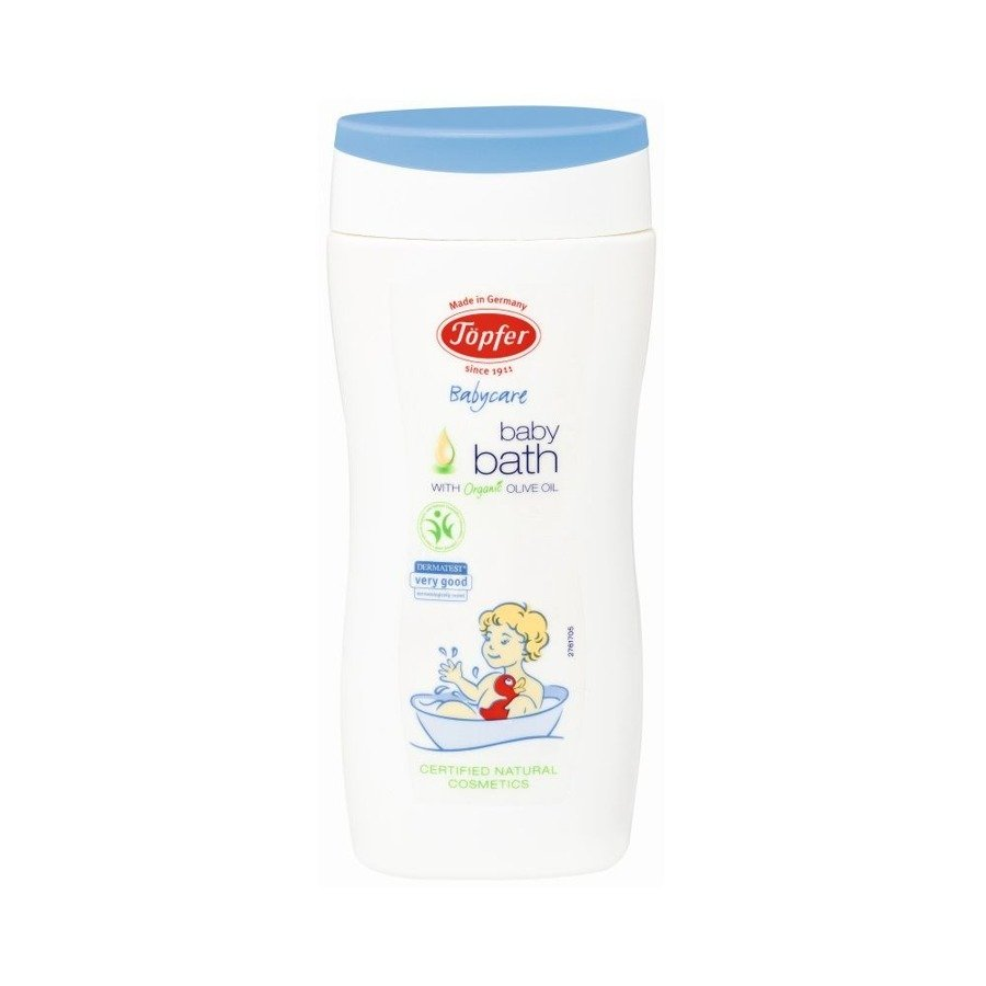 Topfer Babycare Płyn do kąpieli dla niemowląt z oliwą z oliwek 200 ml