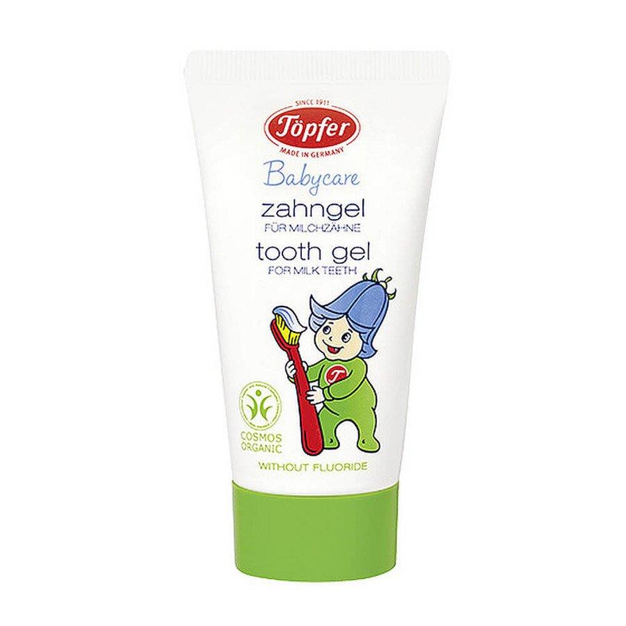Topfer Babycare Żel do zębów bez fluoru dla dzieci z ksylitolem 50 ml