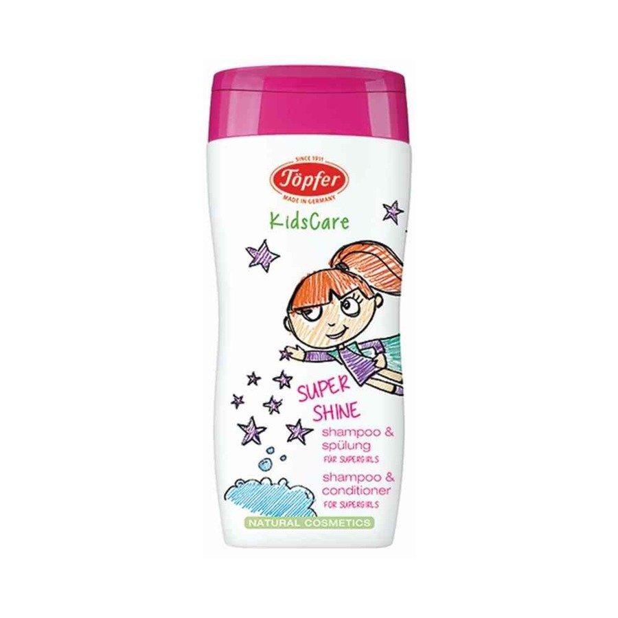 Topfer Kidscare Szampon z odżywką w jednym dla dziewczynek 200 ml