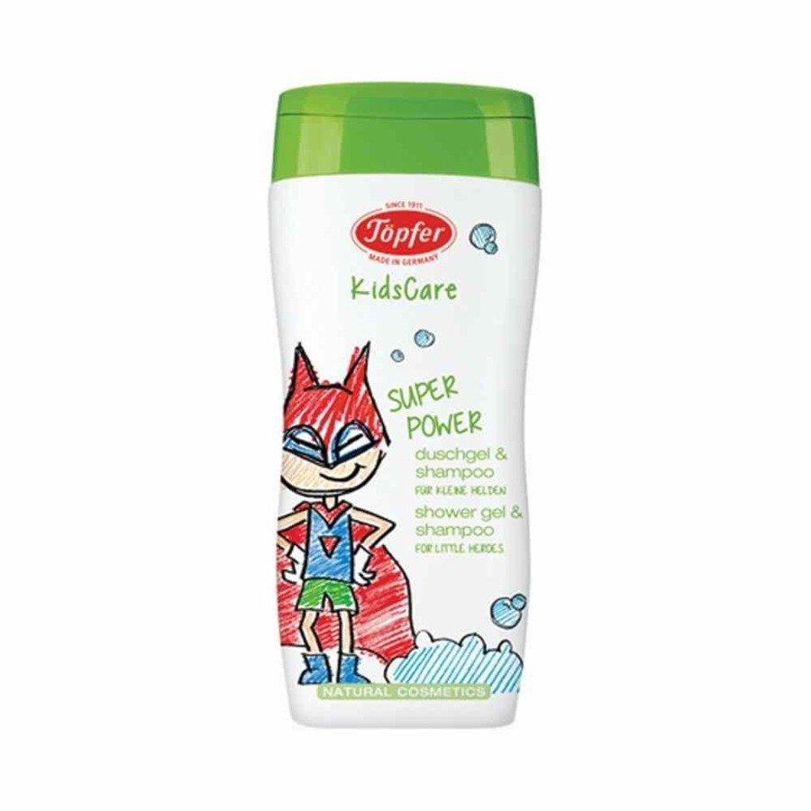 Topfer Kidscare Żel pod prysznic i szampon dla chłopców 2w1 200 ml