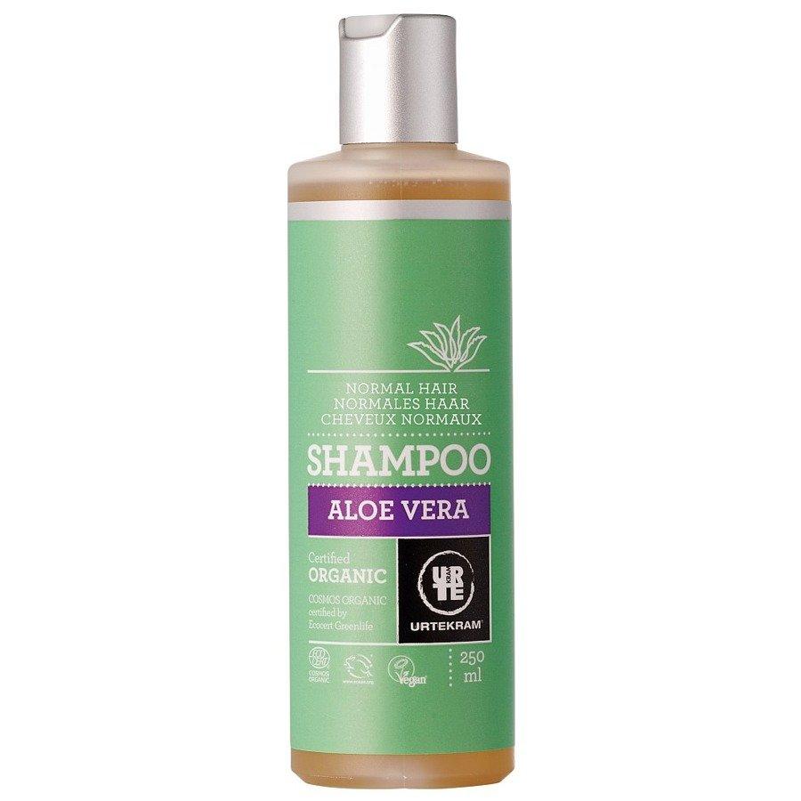 Urtekram Szampon aloesowy do włosów normalnych 250 ml