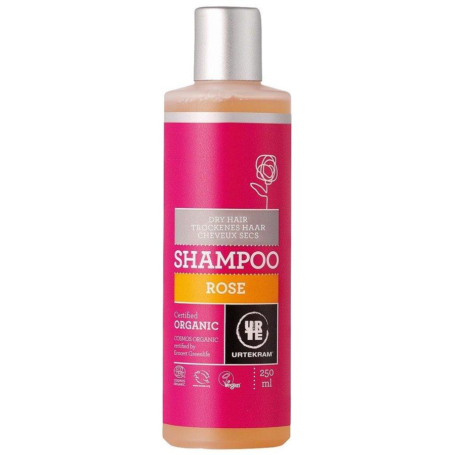 Urtekram Szampon różany do włosów suchych 250 ml