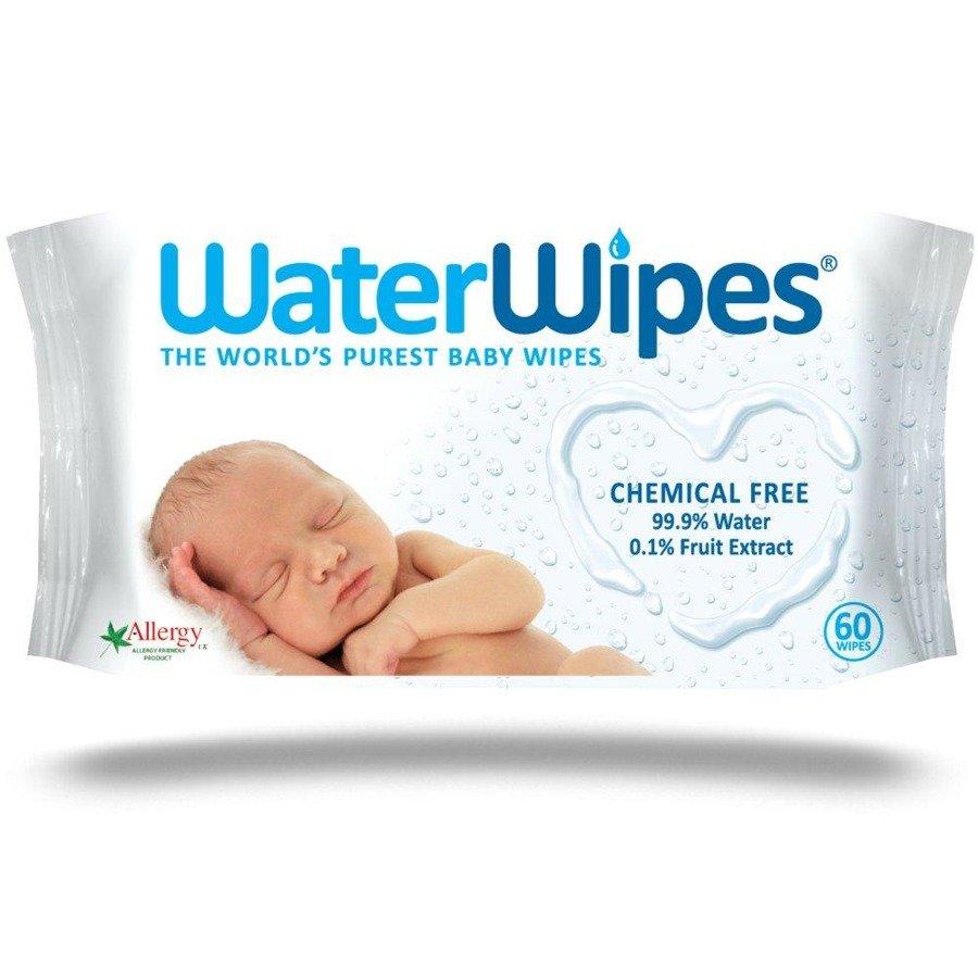 WaterWipes Chusteczki nawilżane czystą wodą 60 szt.